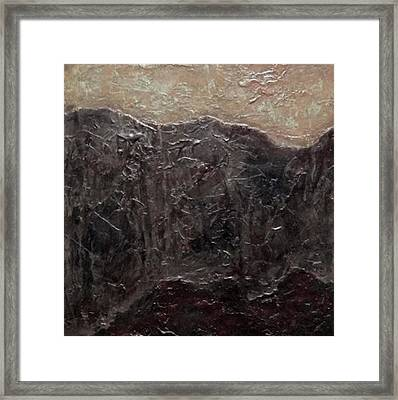 Tile No.6 Framed Print by Jim Ellis