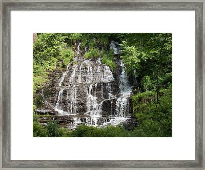 Slatebrook Falls Framed Print
