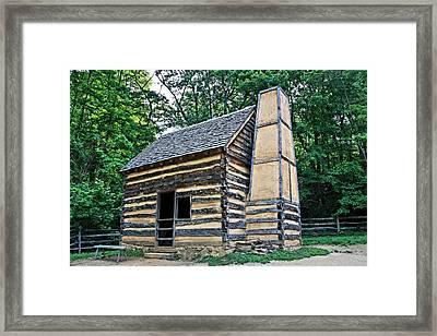 Slave Cabin Framed Print