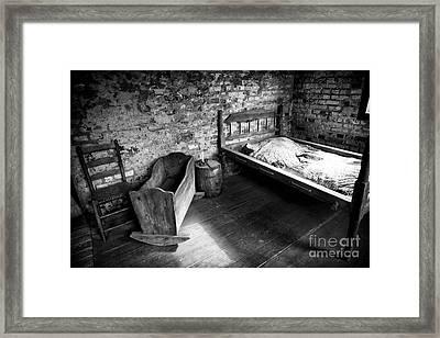 Slave Living Framed Print
