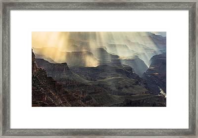 Slave Of Light Framed Print