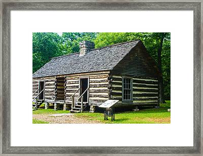 Slave Quarters Framed Print by Robert Hebert