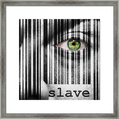 Slave Framed Print by Semmick Photo