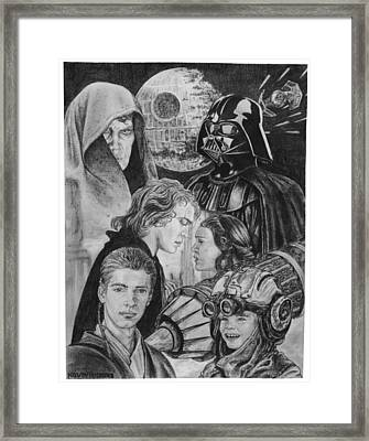 Slave To Lord Framed Print by Kevin  Rhodes