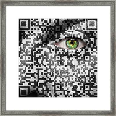 Slave To The Maze Framed Print