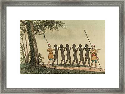 Slaves Framed Print by British Library