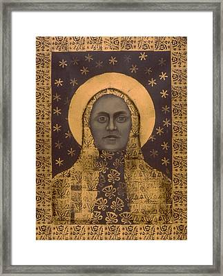 Slavic Mother Goddess Framed Print