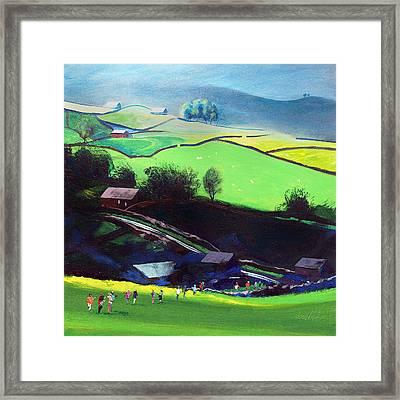 Sleddale Yorkshire Uk Framed Print by Neil McBride