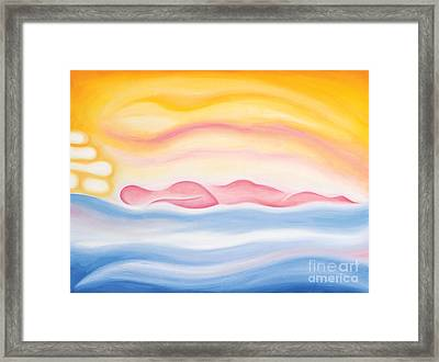 Sleep All Day Framed Print by Tiffany Davis-Rustam