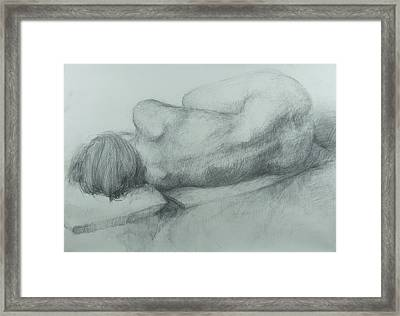 Sleep Framed Print by Cynthia Harvey