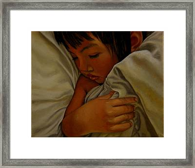 Sleep Framed Print