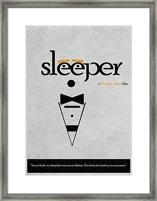 Sleeper Framed Print