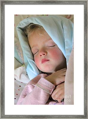 Sleeping Angel Framed Print