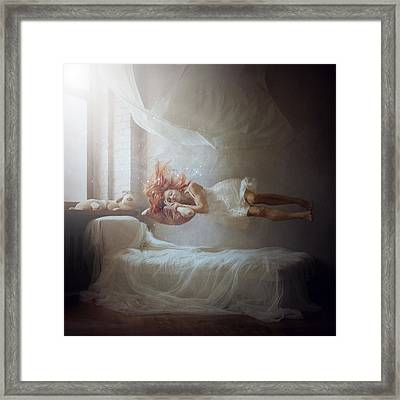 Sleeping Framed Print by Anka Zhuravleva