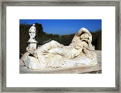 Sleeping Ariane At Versailles  Framed Print by Olivier Le Queinec
