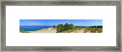 Sleeping Bear Dunes National Lakeshore Framed Print by Michelle Calkins