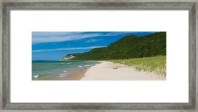 Sleeping Bear Dunes National Lakeshore Framed Print by Sebastian Musial