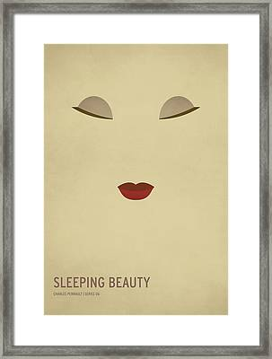 Sleeping Beauty Framed Print by Christian Jackson