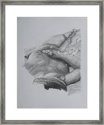 Sleeping Beauty Framed Print by Christian Whalvin