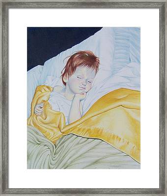 Sleeping Beauty Framed Print by Constance Drescher