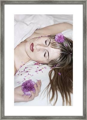 Sleeping Beauty Framed Print by Svetlana Sewell
