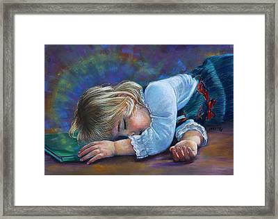 Sleeping Child Framed Print