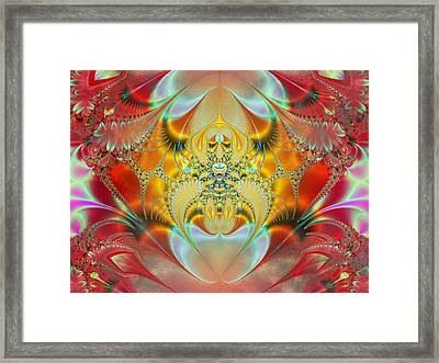 Sleeping Genie Framed Print