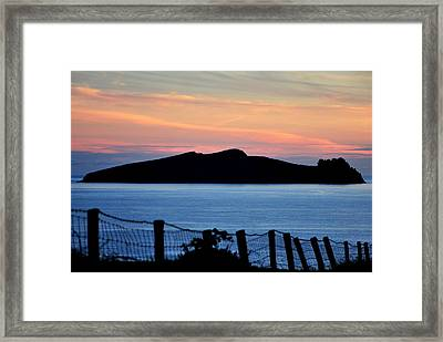 Sleeping Giant Framed Print by Florian Walsh