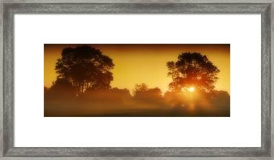 Sleeping Giant Framed Print by John Chivers
