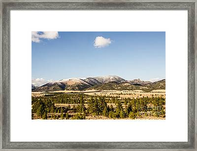 Sleeping Giant Framed Print by Sue Smith