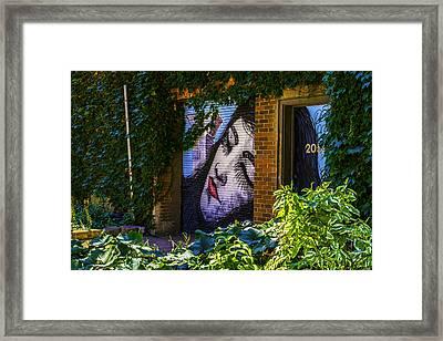 Sleeping Lady No Watermark Framed Print