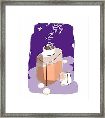 Sleeping Pills Framed Print by Paul Brown
