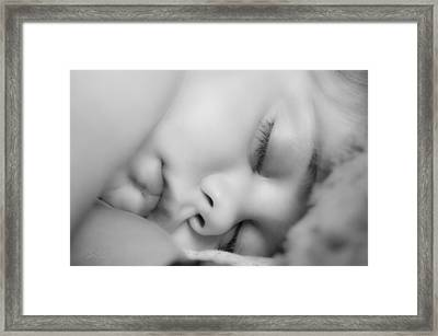 Sleeping Princess Framed Print by BandC  Photography