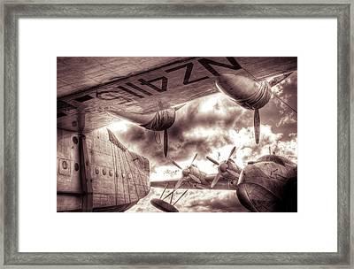 Sleeping Sister Sunderlands Framed Print