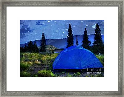 Sleeping Under The Stars Framed Print by Juli Scalzi