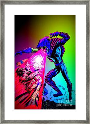 Sleepwalker 1e Framed Print by Justin Moore