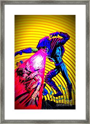 Sleepwalker 1k Framed Print by Justin Moore
