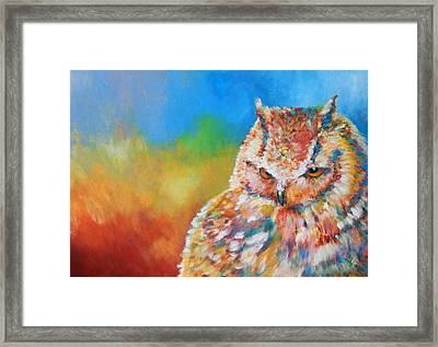 Sleepy Contemplation Framed Print