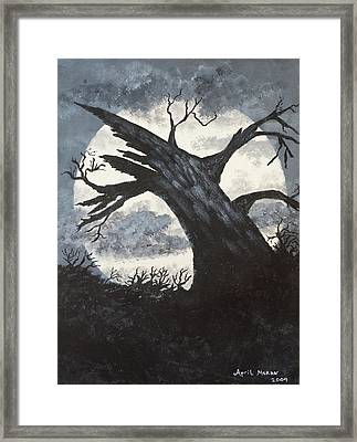 Sleepy Hollow Framed Print by April Moran