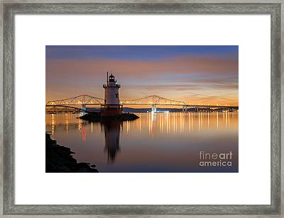 Sleepy Hollow Light Reflections  Framed Print