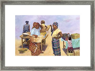 Sleight Of Hand Framed Print by Colin Bootman