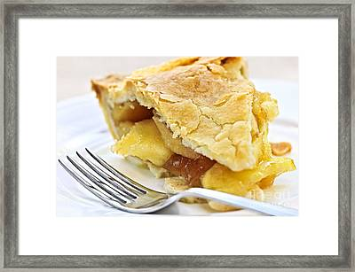 Slice Of Apple Pie Framed Print