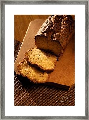 Slice Of Cake Framed Print by Ciprian Kis