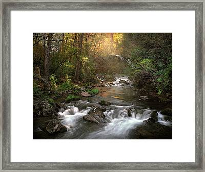 Slice Of Heaven Framed Print by William Schmid