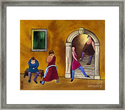 Slice Of Life  Framed Print by William Cain