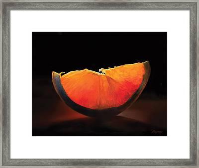 Slice Of Light Framed Print