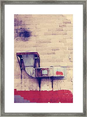 Slice The Bruises  Framed Print by Jerry Cordeiro