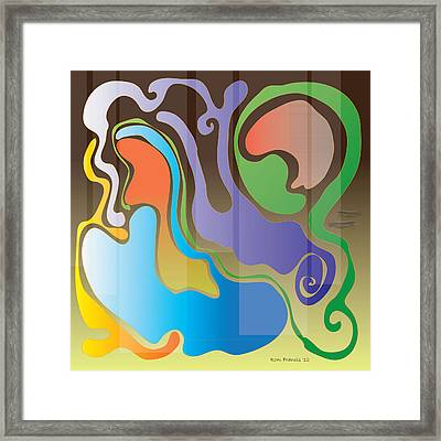 Slick 12b Framed Print by Rom Francis