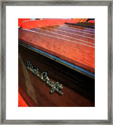 Slick Craft Powerboat Framed Print