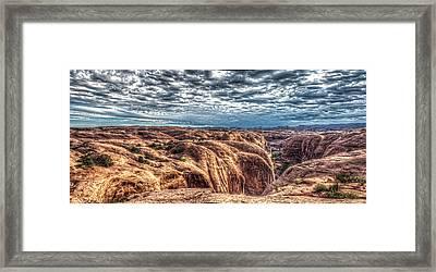 Slickrock  Framed Print by Corey Cassaw